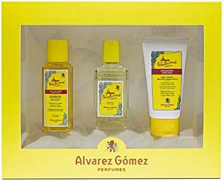 Alvarez Gomez Estuche Alvarez Gomez Colonia Conc.80Vapo+Gel90+Body75(Estuche) - 1 unidad: Amazon.es