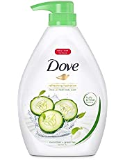 Dove Go Fresh Cucumber and Green Tea Paraben-Free Body Wash, 1L