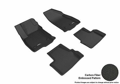 3D MAXpider L1CH07901509 Black All-Weather Floor Mat for Select Chevrolet Volt Models Complete Set