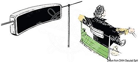 Cuscino Poggiaschiena Per Battagliole.Osculati Schienalino Bianco Per Battagliola Amazon It Sport E