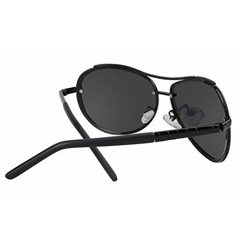 2 HOME De Controladores De Espejo Sin Moda Color Conducir 1 QZ Luz Polarizada Gafas Marco Sol Vintage ZFdq44w