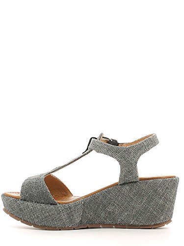 Cafenoir HM944 Wedge sandals Frauen Anthrazit