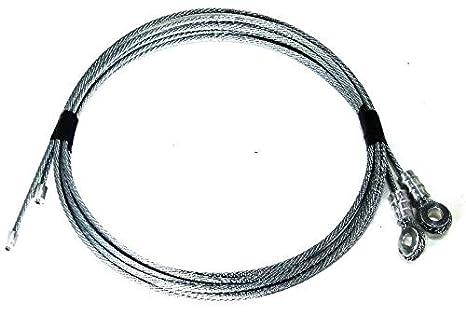 Amazon.com: Todco Style - Cables para puerta de camión para ...