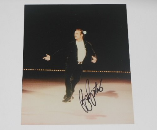 Brian Boitano Olympic Champion Figure Skater Hand Signed Autographed 8x10 Glossy Photo -
