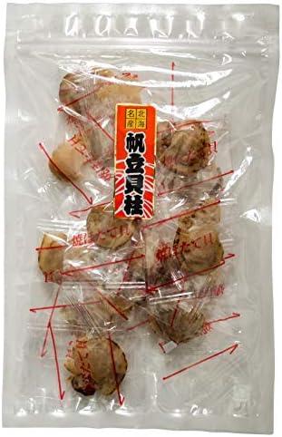 焼きほたて 16個入(食べやすい個包装タイプ)ホタテをじっくり焼きあげた珍味(美味しいほたて貝柱珍味)帆立貝ヒモ付のチンミ 焼きホタテ貝