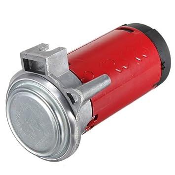 Compresor de aire - SODIAL(R) DC 12V compresor de aire para de maquina electrica de cuerno de aire de coche barco carro automatico vehiculos: Amazon.es: ...