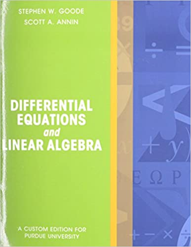 Amazon differential equations and linear algebra package purdue differential equations and linear algebra package purdue university 1st edition fandeluxe Image collections
