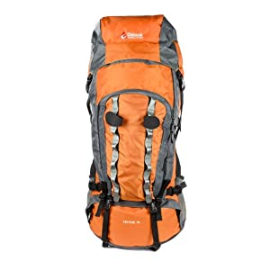 Chinook Vector Internal Frame Expedition Pack, Orange, 75-Liter