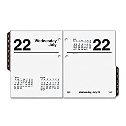 AT-A-GLANCE E919-50 Recycled Compact Desk Calendar Refill, 3\