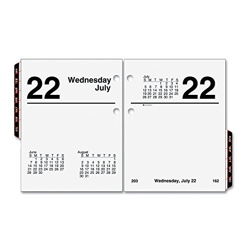 (AT-A-GLANCE E919-50 Recycled Compact Desk Calendar Refill, 3
