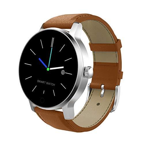 腕時計1.3インチIPSスクリーンスマートウォッチIP54防水、サポートコール/メッセージリマインダー/ソーシャルメディア通知/カメラ制御/睡眠モニタリング/座りがちなリマインダー Color5
