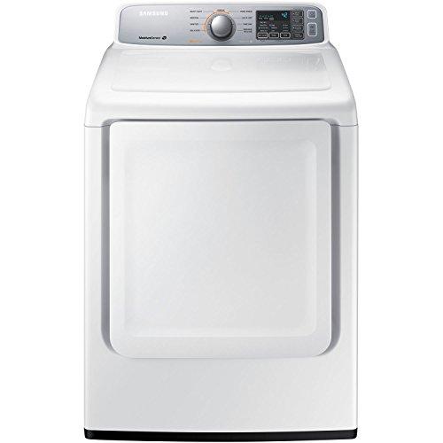 Samsung DV45H7000GW 7.4 Cu. Ft. Gas Dryer with Sensor Dry, White by Samsung
