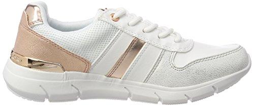 Tom Tailor 4891705, Baskets Femme Weiß (White)
