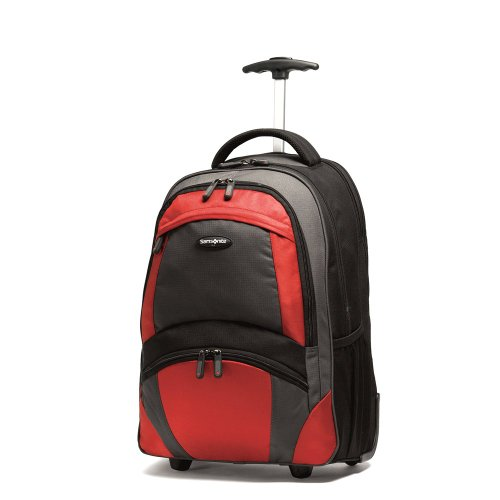 Samsonite Wheeled Backpack Blackorange
