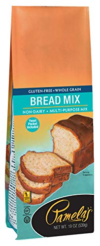 Pamela's Products Gluten Free, Bread Mix, 19 Ounce Packages (Pack of 6)