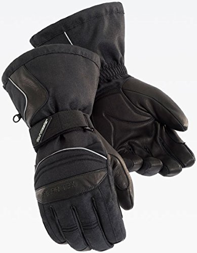 Tour Master Polar-Tex 2.0 Womens Textile Street Racing Motorcycle Gloves - Black / (Tour Master Motorcycle Glove)