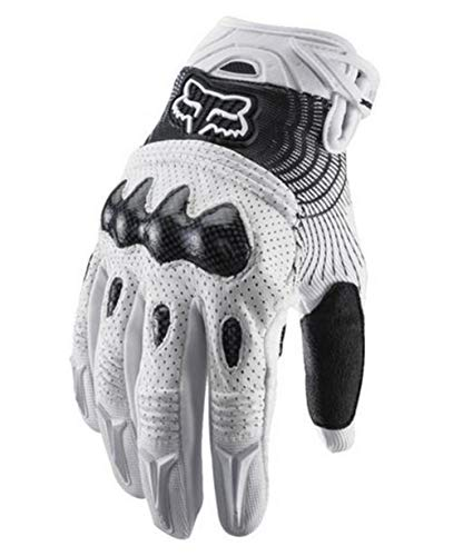 Fox Bomber glove white/black size Small