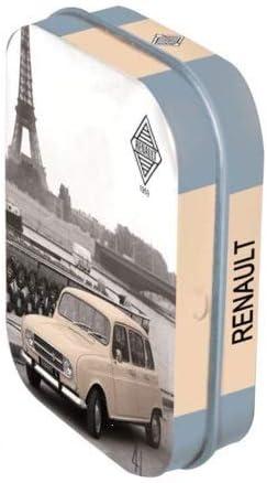 Mini Caja Coleccionista Renault 4L (4x6x1, 6cm) Dulces Menta ...