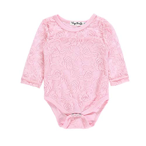 RUIVE Newborn White Lace Floral Romper Infant Baby Girls Bodysuit Short Sleeve Onesies Summer Clothes Outfits