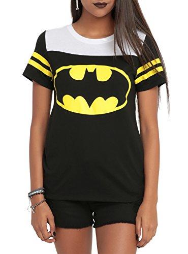 DC Comics Batman Gotham City Girls Hockey T-Shirt 3XL Size : XXX-Large