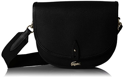 Lacoste Chantaco Crossover Round Black Bag qqrpdwxF6