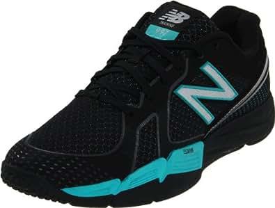 New Balance Women's WX997 Performance Training Shoe,Black/Teal,7.5 D US