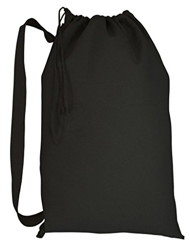 Canvas Laundry Bags With Strap - 1