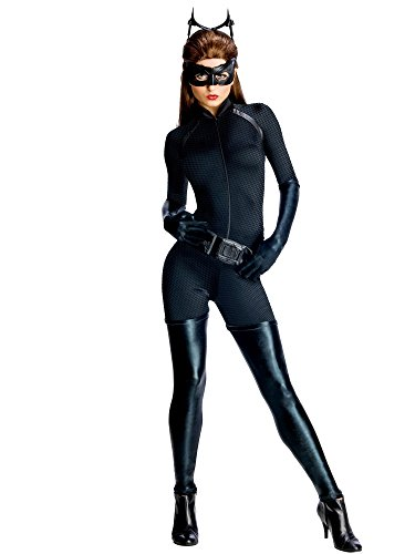 Rubie's Costume Co Dark Knight Rises Adult Catwoman Costume, Black, -