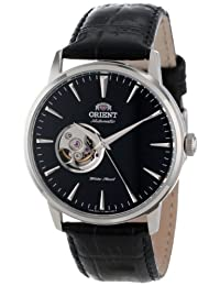 Orient Mens FDB08004B Esteem Open Heart Dial Watch