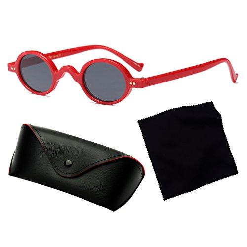 C5 De Protection Unisexe Style Tide Glasses Yying Lunettes UV Lumineux Nouveau Cool De Mode Rétro 400 Soleil Vintage Petites Rondes qtwxZHxS