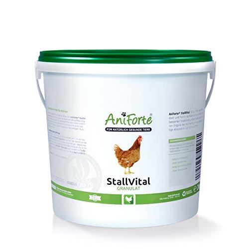 AniForte Stall Vital Granulat 2 kg - versch. Größen - für verbessertes, keimfreies Stallklima- Naturprodukt für Hühner
