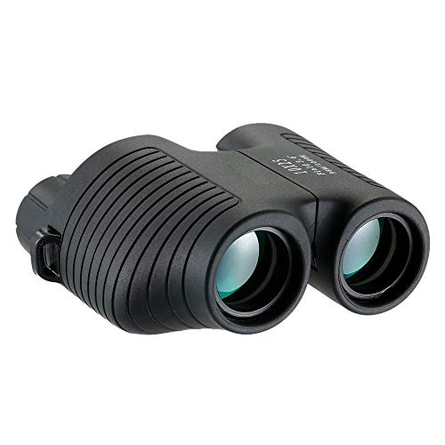 FW ZONE 10x25 Binoculars Auto Focus HD Portable Compact Binocular with Weak Light Night Vision for Bird Watching, Outdoor, Fullball, Concerts,Hunting