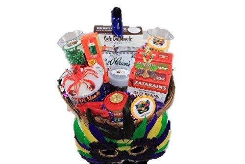 Mardi Gras Gourmet Gift Basket (Louisiana Food Basket Gift)