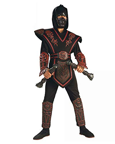 Deluxe Red Skull Ninja Child Costume]()