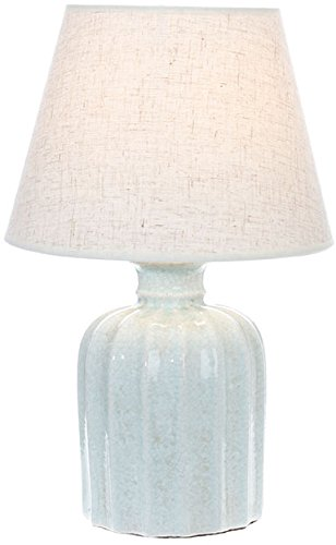 Blue Lamp with Shade - 17 inch by RAZ Imports