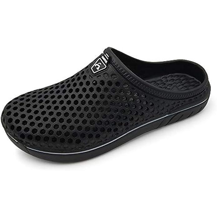 Amoji Unisex Garden Clogs Shoes Sandals Slippers AM1761