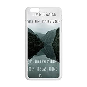 Happy john green book quotes Phone Case for Iphone 6 Plus