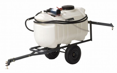 Precision Products TCT25 Tow Behind and Spot Sprayer, 12-Volt, 25-Gallon (Trailer Pull Behind)