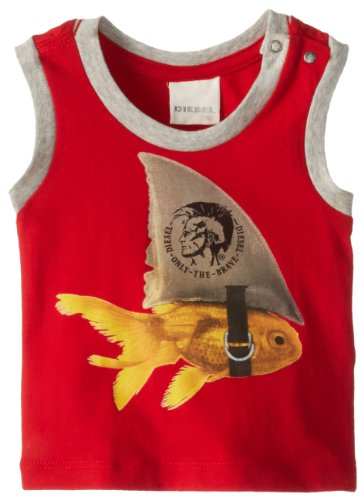 Diesel Baby-Boys Infant Tuhjb T-Shirt Tank