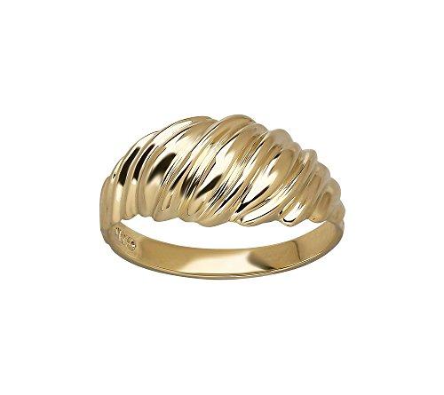 Polished Shrimp Design Ring in 10K Yellow Gold