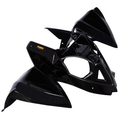 Maier Front Fender Black for Polaris OUTLAW 450 MXR 2008