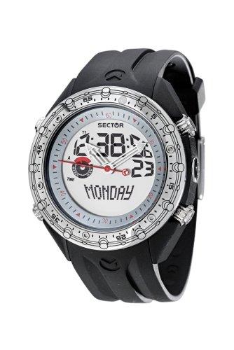 Sector R3251909015 - Reloj digital de cuarzo para niño, correa de plástico multicolor (multifunción