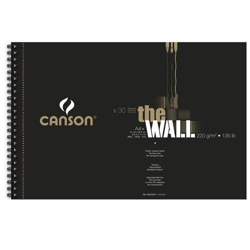 CANSON THE WALL A4+ 220gr blocco 30 fogli 400078797