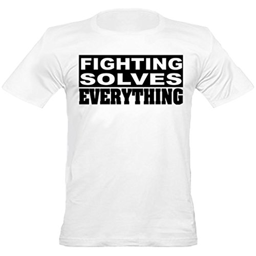 urban-shaolin-mens-mma-boxing-fighting-solves-everything-crew-neck-fitted-t-shirt