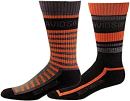 Wolverine Men's Mix & Match 2 Pack Socks Black D99226570-020