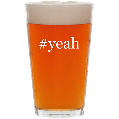 #yeah - 16oz Hashtag Pint Beer -