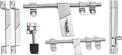 SAIFPRO Stainless Steel Door Kit (Silver)