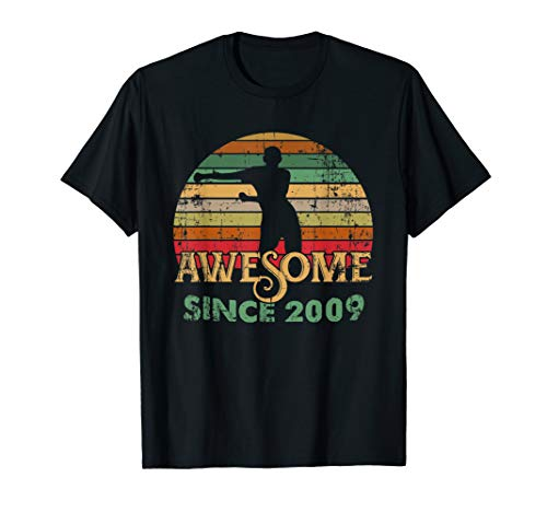 Vintage Flossing Awesome Since 2009 10th yrs Birthday Gifts (Birthday Cards For 10 Years Old Girl)