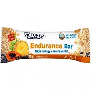Victory Endurance Endurance Bar - 25 Barritas x 85gr Plátano con chocolate blanco