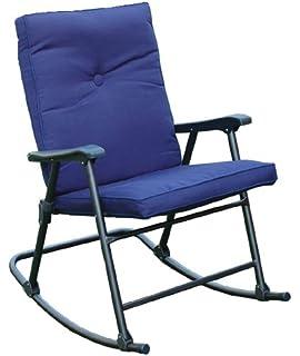 Lovely Prime Products 13 6602 La Jolla California Blue Rocker Chair